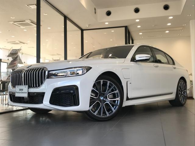 BMW 745e Mスポーツ 弊社デモカー ブラックレザーシート ヘッドアップディスプレイ BMWレーザーライト 20インチアルミホイール 全周囲カメラ コンフォートシート 電動トランク レーンキープアシスト