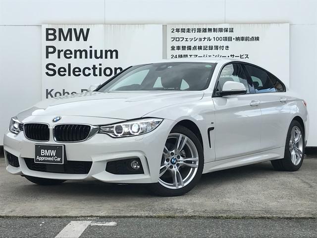 BMW 420iグランクーペ Mスポーツ ワンオーナー ブラックレザーシート シートヒーター アクティブクルーズコントロール コンフォートアクセス LEDヘッド 純正18インチアルミホイール 純正HDDナビ マルチファンクションステアリング