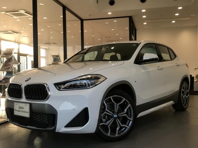 BMW xDrive 18d MスポーツX 弊社デモカー モカブラウンレザーシート シートヒーター 電動シート コンフォートアクセス ヘッドアップディスプレイ 19インチアルミ コンフォートパッケージ アクティブクルーズコンロール LEDライト