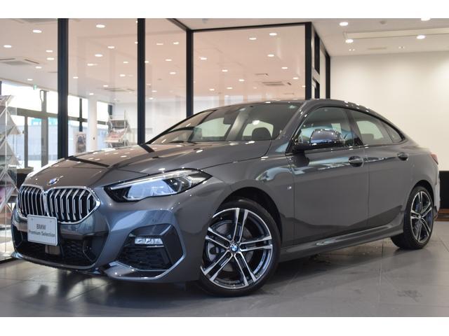 BMW 218dグランクーペ Mスポーツエディションジョイ+ 弊社デモカー 禁煙車 ミラー純正ETC HDDナビ コンフォートアクセス アクティブクルーズコントロール 純正18インチアルミホイール アルカンターラークロスシート