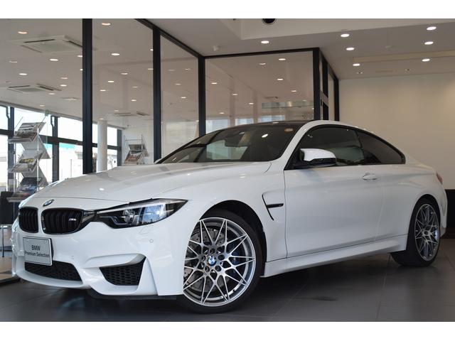 BMW M4クーペ コンペティション ワンオーナー 純正20インチアルミホイール フロントシートヒーター 衝突被害軽減ブレーキ 純正HDDナビ Mパフォーマンスブレーキ  認定中古車 アダプティブLEDヘッドライト 弊社下取車