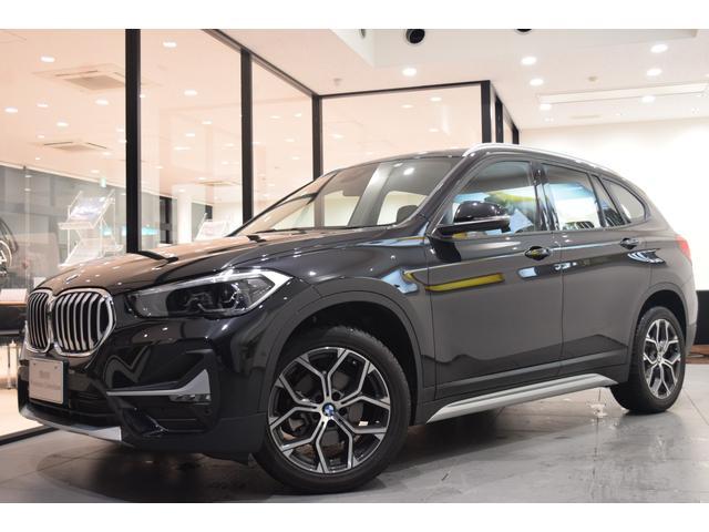BMW X1 xDrive 18d xライン モカレザーシート 18インチアロイホイール セーフティーパッケージ コンフォートパッケージ LEDヘッドライト シートヒーター HDDナビ バックカメラ 衝突被害軽減ブレーキ プッシュスタート