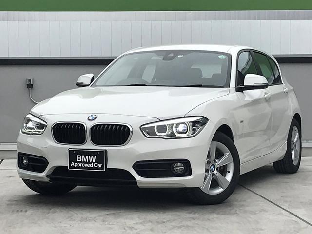 BMW 1シリーズ 118i スポーツ HDDナビゲーション クルーズコントロール 衝突被害軽減ブレーキ LEDヘッドライト 純正16インチアロイホイール ミラー型ETC 後期型 プッシュスタート スマートキー ウインカーミラー