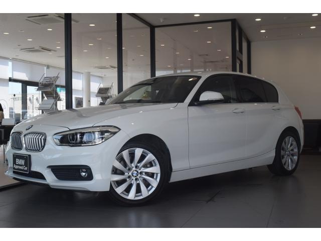 BMW 118i セレブレーションエディション マイスタイル 特別限定車400台 センサテックシート パーキングサポート プラスパッケージ 純正17インチアルミホイール LEDヘッドライト HDDナビ シートヒーター ミラー内蔵ETC
