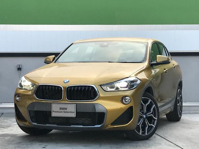 BMW sDrive 18i MスポーツX 弊社社用車 アクティブクルーズコントロール 衝突被害軽減ブレーキ Bluetooth接続機能 電動リアゲート LEDヘッドライト 純正19インチアルミホイール シートヒーター スマートキー