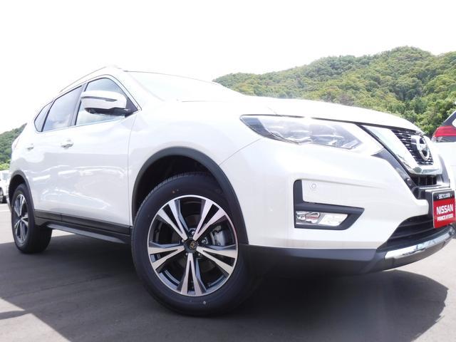日産 20Xi 4WD 登録済み未使用車 ルーフレール LED