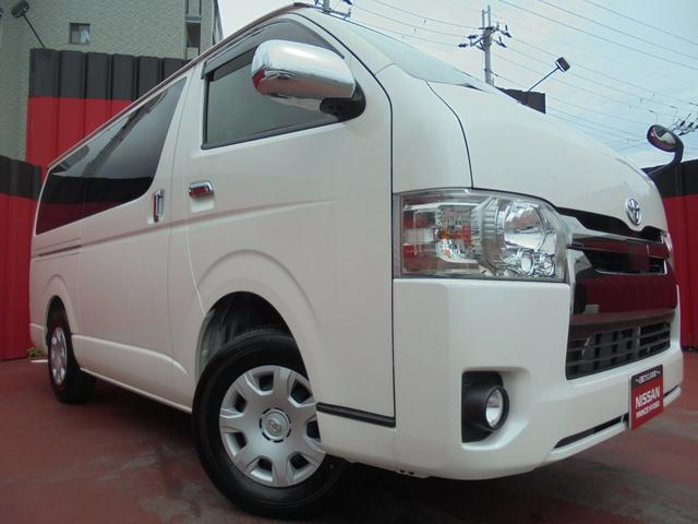 トヨタ ハイエースバン スーパーGL ダークプライムII ナビ バックモニター