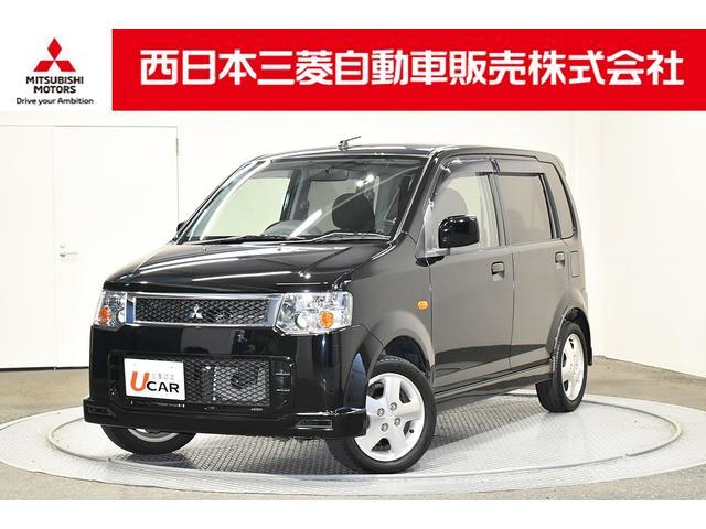 三菱 eKスポーツ R HDDナビ ETC 電動格納ドアミラー リモコンキー ベンチシート HIDヘッドライト