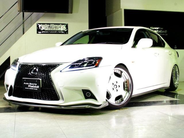 レクサス IS スピンドル仕様・18AW・車高調・新品部品・自社製作