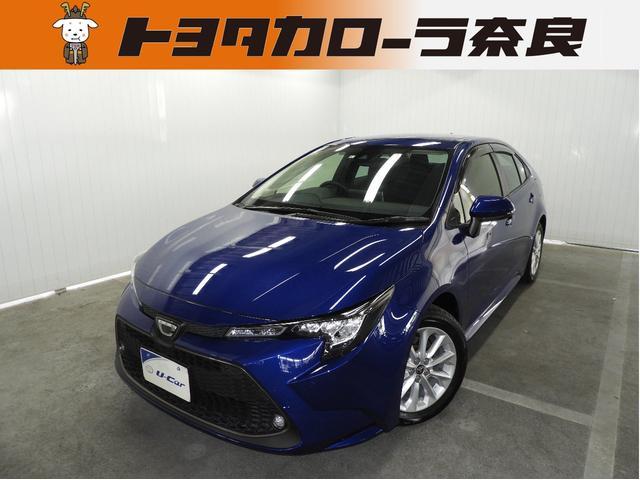 トヨタ カローラ S 元試乗車・TSS・ICS・メモリーナビ・バックM・LED