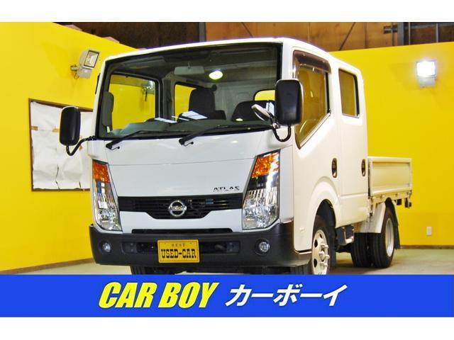 日産 アトラストラック 1.25T積みWキャブAT車 PW ABS キーレス