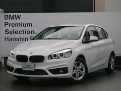 BMW218iアクティブツアラー衝突軽減ブレーキ車線逸脱警告ETC