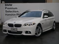 BMW523iツーリング Mスポーツ ハイライン黒革LEDACC