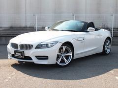 BMW Z4sDrive20i Mスポーツ認定保証黒革1オナHDD地デジ