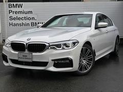 BMW523d Mスポーツ登録済未使用車デビューPKG地デジHDD