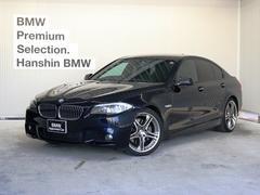 BMW535i Mスポーツパッケージ認定保証直6ターボ黒革1オーナ