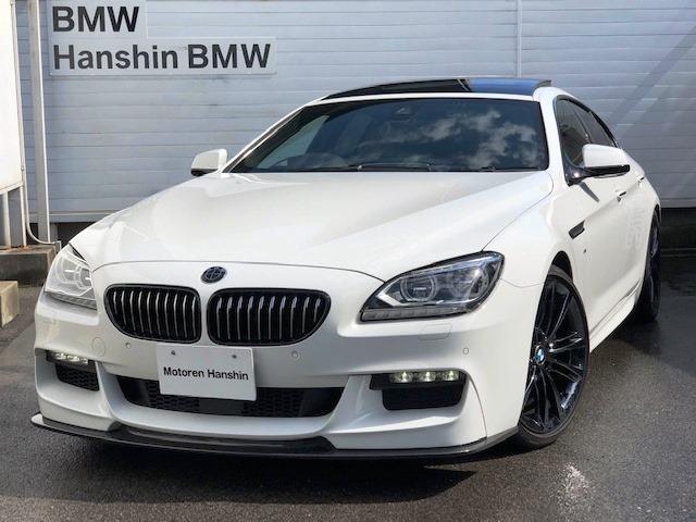 BMW 640iグランクーペMスポーツED認定保証液晶メータACC