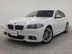 BMW523d Mスポーツ認定保証ACCインテリセーフLEDフォグ