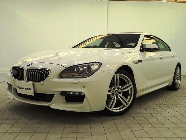 BMW 640iグランクーペMスポーツアイボリー革SR1オナ認定保証
