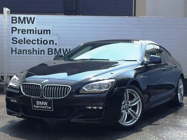 BMW 640iグランクーペ Mスポーツ認定保証SRアイボリ革LED
