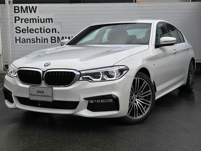 BMW 523d Mスポーツ登録済み未使用車デビューパッケージLED