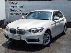 BMW118d スタイルパーキングサポート純正HDDナビ元デモカー