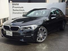 BMW523iツーリングMスポーツ自社元デモカーLEDヘッドACC
