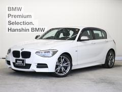 BMWM135i 認定中古車黒革バックカメラPDCタッチパッドナビ