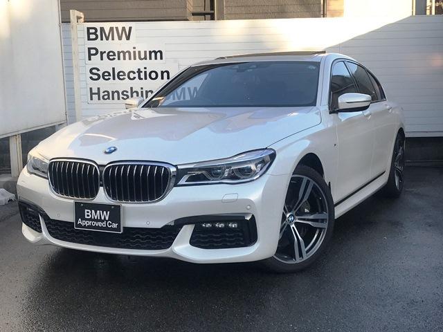 BMW 750iMスポーツ認定保証V8TB20AW1オナレーザライト
