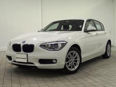 BMW120i認定保証電動シート純正HDDナビキセノンライトETC
