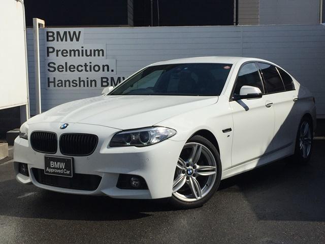 BMW 523d Mスポーツ ザ・ピーク認定保証黒革19AW黒グリル