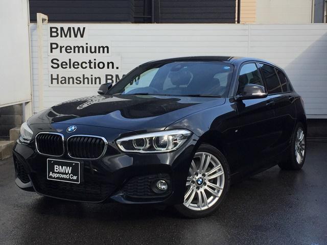 BMW 118i Mスポーツ認定保証ワンオーナーLEDバックカメラ