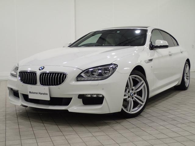 BMW 640iグランクーペMスポーツSRホワイトレザーACCLED