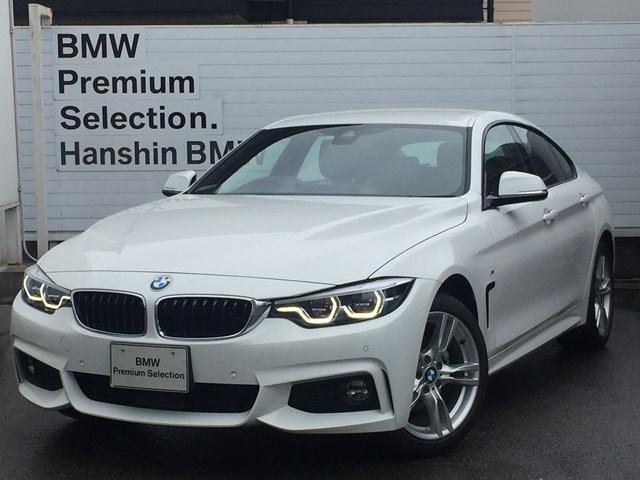 BMW 420iグランクーペ Mスポーツ登録済み未使用車ACCLED