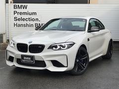 BMW M2ベースグレード認定中古車6速MT黒革LEDヘッド1オーナー
