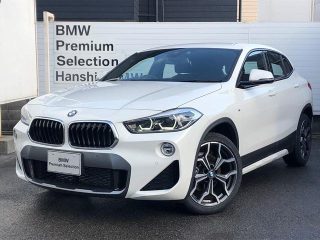 BMW xDrive 18d MスポーツX認定保証LEDライトACC