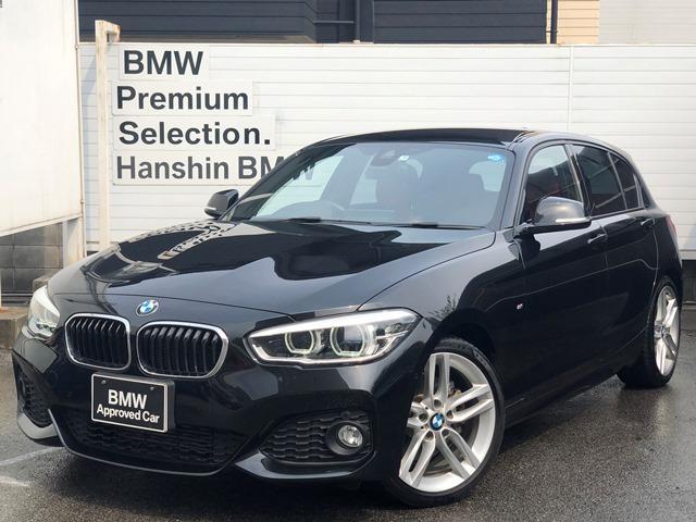 BMW 118i MスポーツアドバンスドPサポ赤革コンフォ-トLED