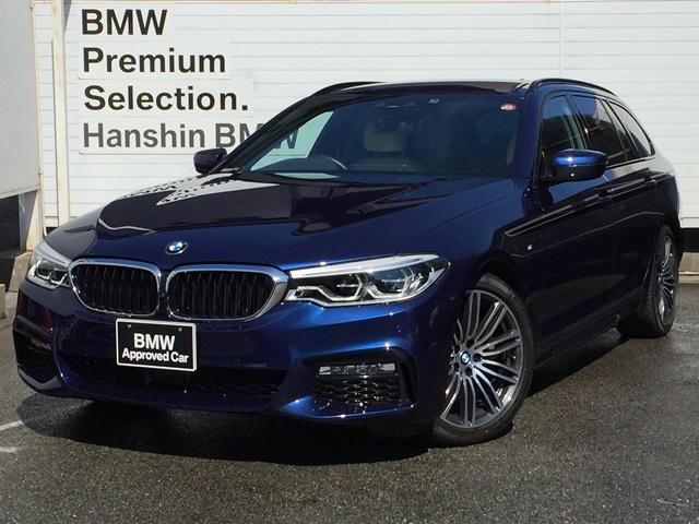 BMW 5シリーズ 523dツーリング MスポーツデビューPKGベージュレザー