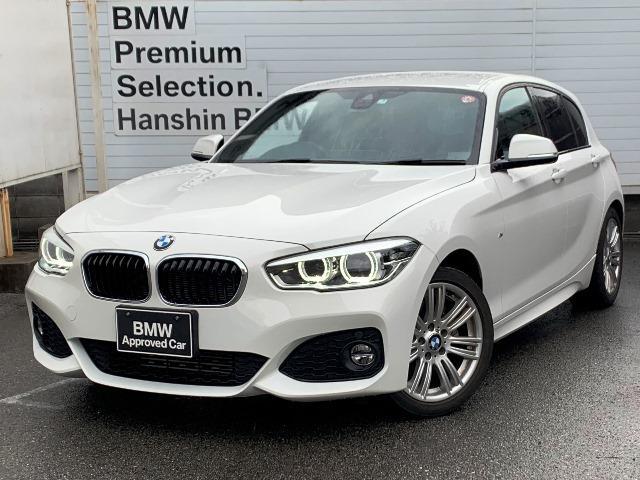 BMW 118d Mスポーツ認定保証インテリジェントセーフティLED