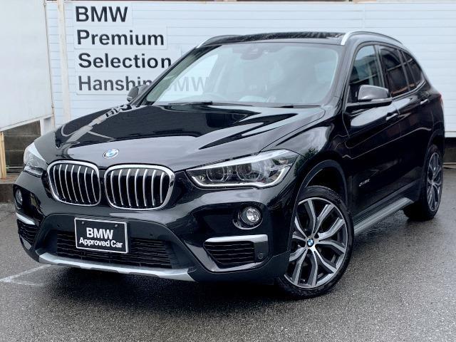 BMW X1 xDrive 18d xライン認定保証1オーナOP19LED