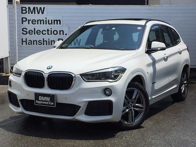 BMW X1 sDrive 18i MスポーツサンルーフHDDナビBカメラ