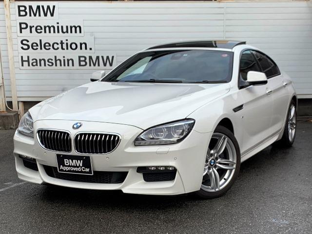 BMW 6シリーズ 640iグランクーペ Mスポーツ認定保証サンルーフ黒革LED