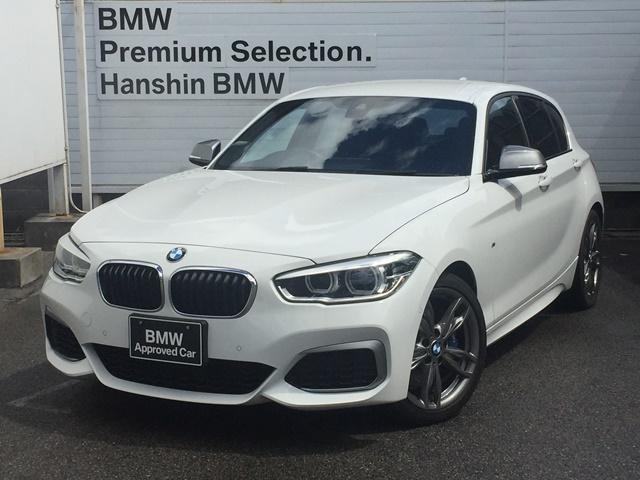 BMW 1シリーズ M140i 認定保証・1オーナー・LEDライト・ブラックレザーシート・シートヒーター・バックカメラ・アドバンスドパーキングサポートPKG・インテリジェントセーフティー・パドルシフト・バックカメラ・F20