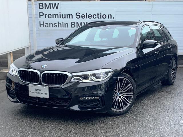 BMW 523iツーリング Mスポーツ 認定保証・イノベーションPKG・純正HDDナビ・Bカメラ・PDC・純正アルミ・LED・インテリジェントセーフティ・電動シート・電動リアゲート・ヘッドアップディスプレイ・ACC・地デジ・ETC・G31