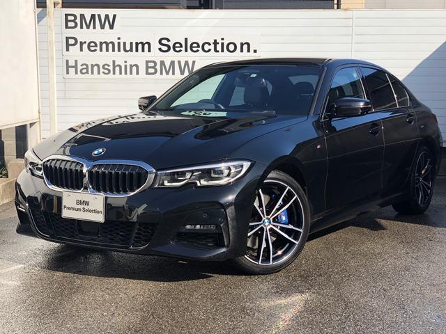 BMW 330i Mスポーツ 認定保証・デビューPKG・コンフォートPKG・トップビューカメラ・アクティブクルーズコントロール・HiFiスピーカー・純正HDDナビ・LEDヘッドライト・電動トランク・ETC・衝突軽減ブレーキ・G20