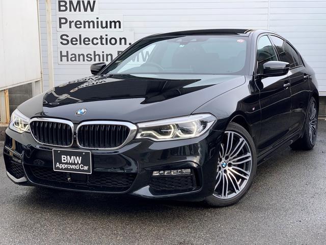 BMW 523d Mスポーツ 認定保証・純正HDDナビ・Bカメラ・PDC・地デジ・LEDヘッドライト・ACC・パドルシフト・インテリジェントセーフティ・コンフォートアクセス・電動シート・電動リアゲート・純正19AW・ETC・G30