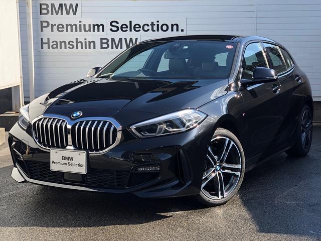 BMW 118i Mスポーツ ・認定保証・弊社デモカー・コンフォートPKG・ナビPKG・アクティブクルーズコントロール・バックカメラ・全周囲PDC・電動トランク・LEDヘッドライト・禁煙車・衝突軽減ブレーキ・ミラーETC・F40