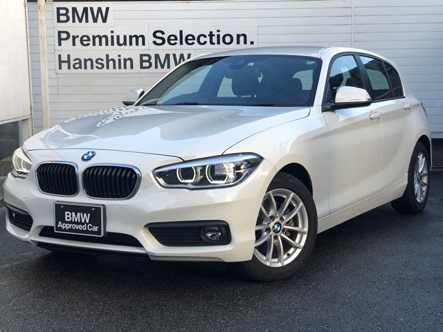 BMW 118i ・全国認定保証・弊社元デモカー・LEDヘッドライト・純正HDDナビ・タッチパネル・ミュージックサーバ・Bluetooth・衝突軽減ブレーキ・車線逸脱・ミラーETC・ステアリングスイッチ・F20・