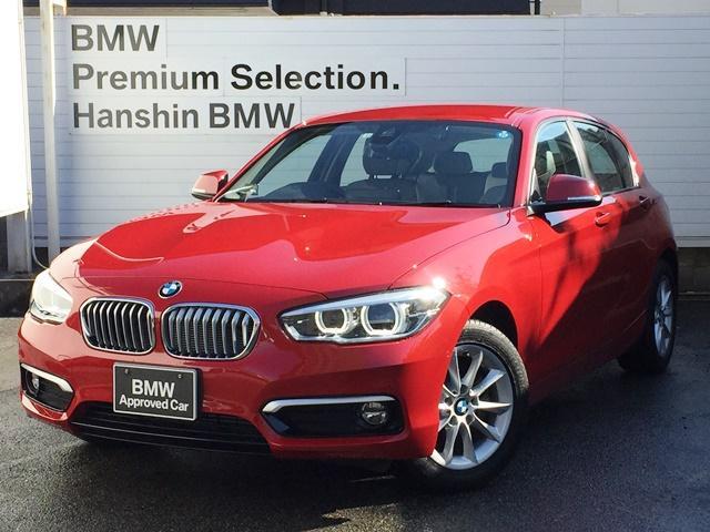 BMW 118d スタイル ドライビングアシスト・パーキングサポートPKG・バックカメラ・F/Rソナー・HDDナビ・クルーズコントロール・ミラーETC車載器・LEDヘッドライト・ハーフレザーシート