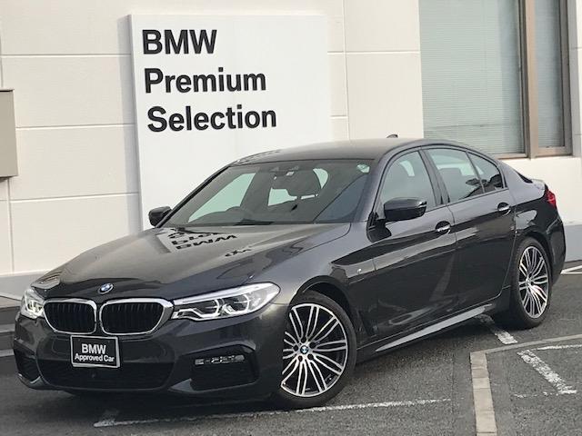 BMW 523i Mスポーツ 認定保証・弊社元デモカー・イノベーションPKG・ドライビングアシスト・パーキングアシスト・ヘッドアップヂスプレイ・ディスプレイキー・ジェスチャーコントロール・ACC・電動シート・ミラーETC・G30